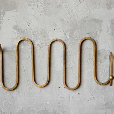 Jean Royere Serpent Style Coat Rack by FandFVintage