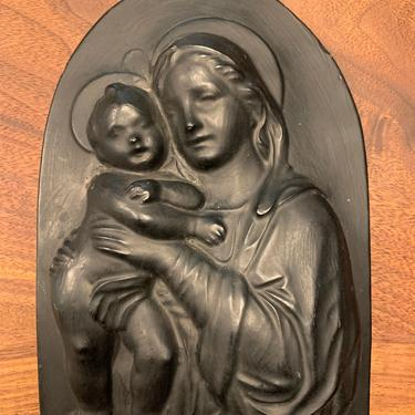 Mary and Child Placque by TheFINDstuff4thehome
