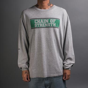 Vintage 90's Chain Of Strength Longsleeve by MillsAveVintage