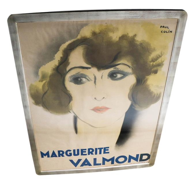 Original French Art Deco Period Poster by Paul Colin 1928 by Marykaysfurniture
