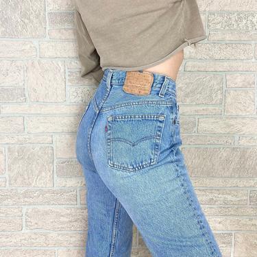 Levi's 501 Vintage Jeans / Size 28 by NoteworthyGarments