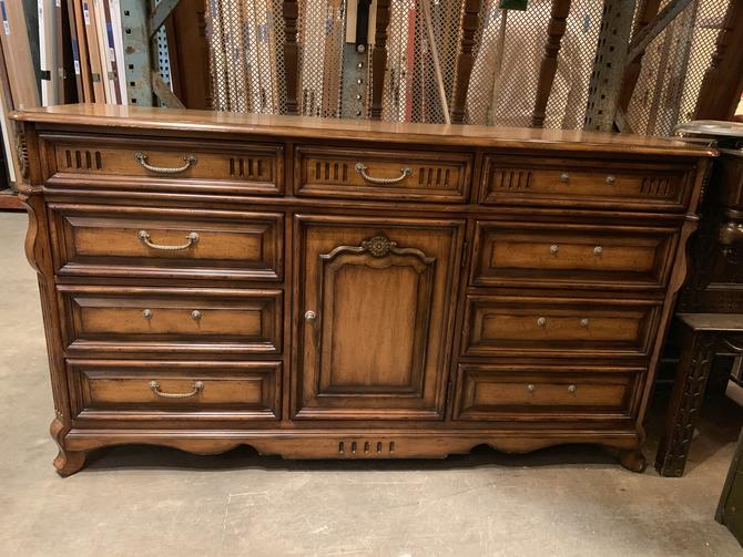 Large decorative wood dresser