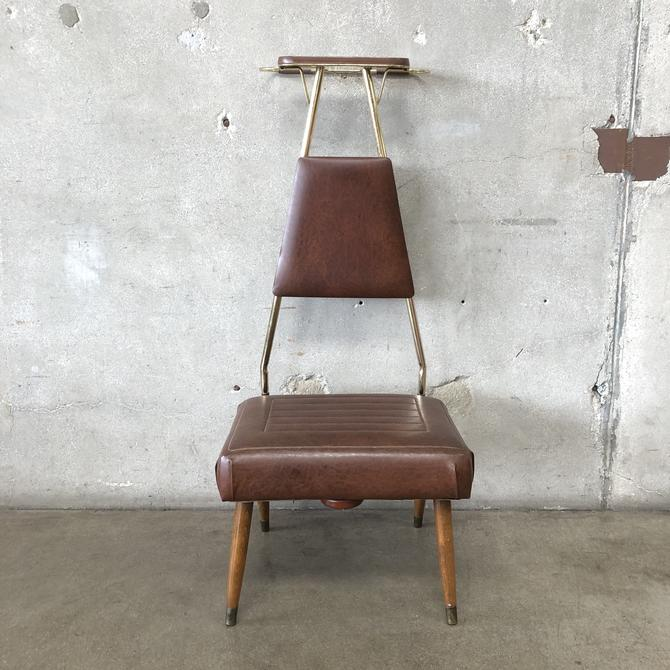 Mid Century Valet Chair by Pearl-Wick NY