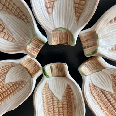 Ceramic Corn Cob Trays by RavenPearVintage