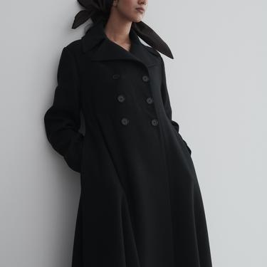 Callaghan Black Wool Coat