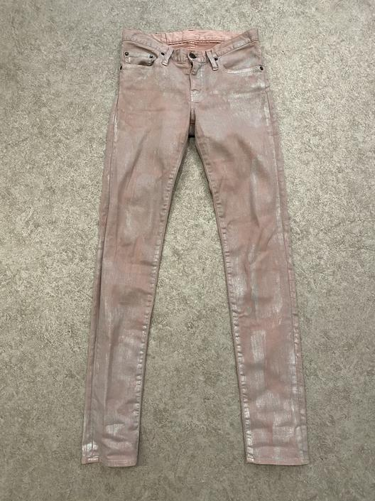 Hysteric Silver Washed Skinny Jeans