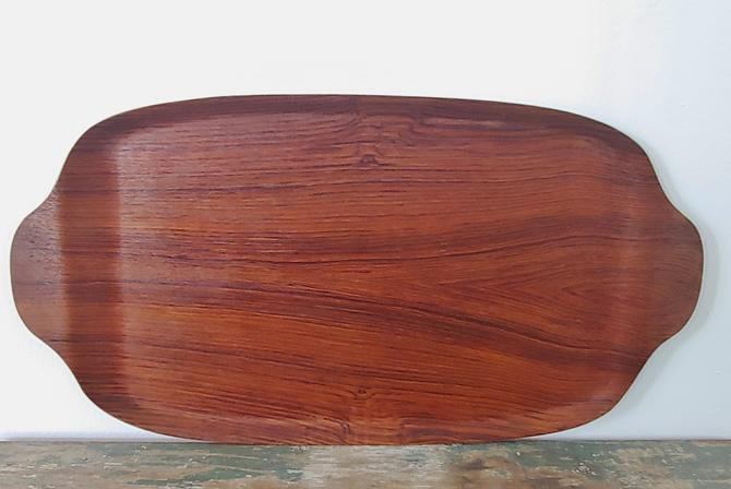 Vintage Teak Serving Tray Made in Sweden by ModandOzzie