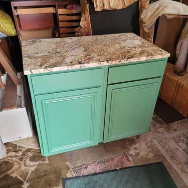 Granite Counter Top Kitchen Cabinet. 43x25x36