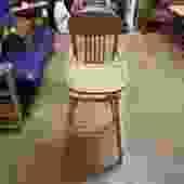 Vintage Unpainted High Chair