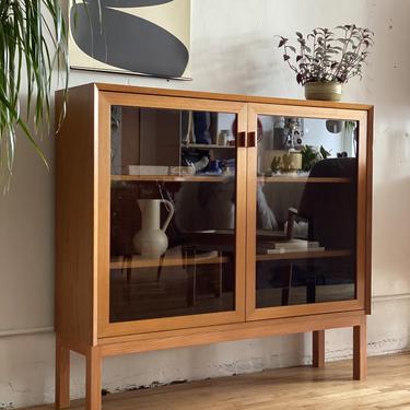 Teak & Glass Cabinet