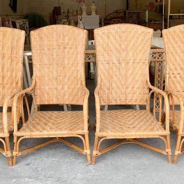 Pair of Ficks Reed Fishing Chairs