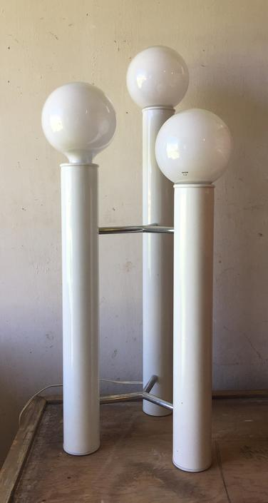 Mid Century Modern Tripod Table Lamp Designed by Tony Paul c.1970's by ModandOzzie