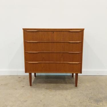 Vintage Danish Modern Teak Low Dresser by FarOutFindsNY