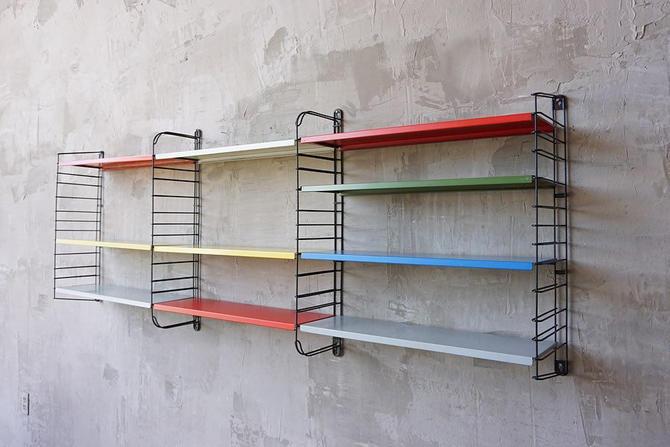 Adrian Dekker Modular Shelving by FandFVintage