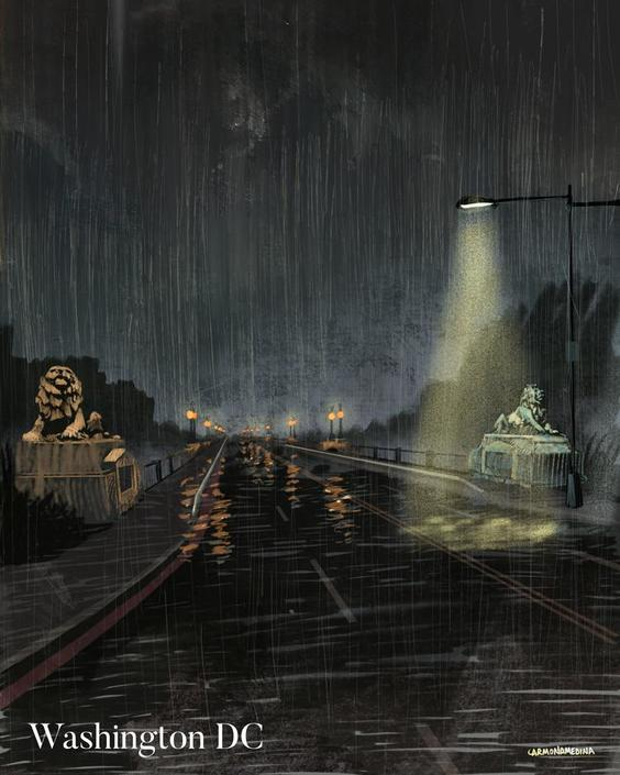 Taft Bridge under the rain [#127]