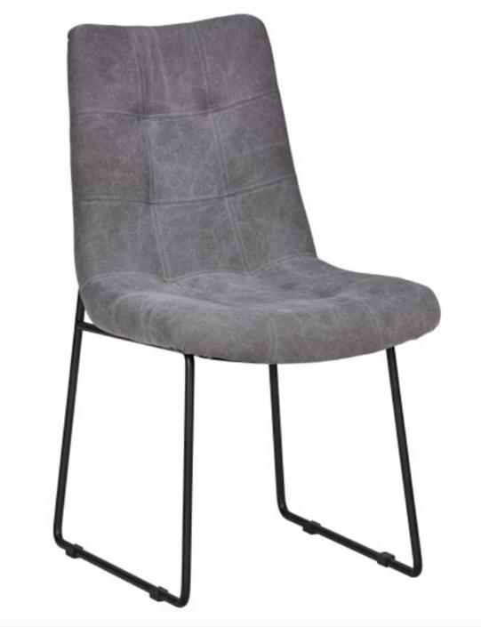 EMILE SIDE CHAIR- SMOKEY GREY