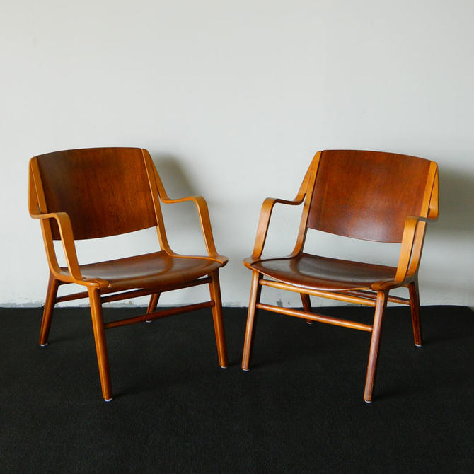 HA-5000 Peter Hvidt Axe Lounge Chairs
