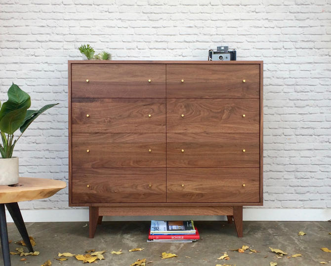 Dumont Dresser - Solid Walnut - Custom For Sabrina by STORnewyork