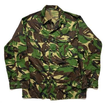 Vintage 1990s British Army Camouflage Shirt ~ size M ~ Military Uniform ~ Zip-Front ~ 90s Camo ~ Jacket ~ UK by SparrowsAndWolves