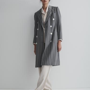 1970's Oscar De La Renta Striped Jacket