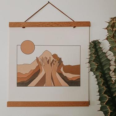 """ Move Mountains"" Art Print"