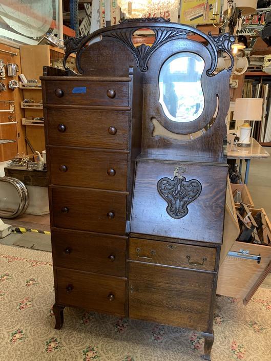 Super cute vintage dresser / secretary