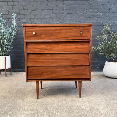 Mid-Century Modern Walnut Highboy Chest of Drawers by Harmony House, c.1960's by VintageSupplyLA