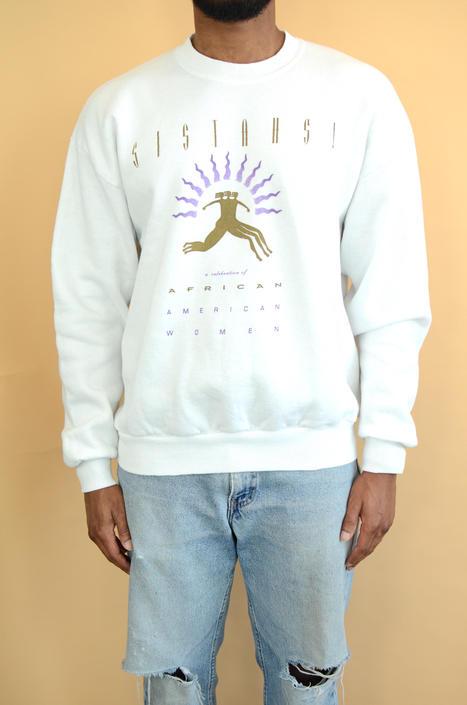 "Vintage 90s ""Celebration of African Women"" Unisex Sweatshirt (XL, Oversize) by MAWSUPPLY"