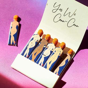 Cann-Cann Matchbook - Yes