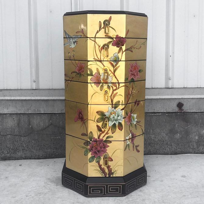 Vintage Asian Jewelry Box by secondhandstory