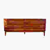 #463: Long Mid Century Dresser