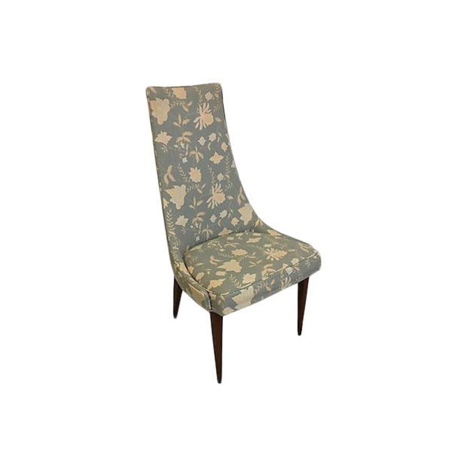 Superb Hold Adrian Pearsall Style High Back Accent Chair By Bostonvintagestudio Machost Co Dining Chair Design Ideas Machostcouk
