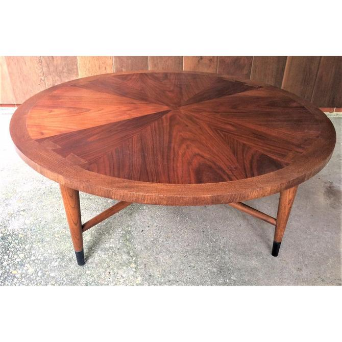 1960s Mid Century Modern Lane Acclaim Round Coffee Table