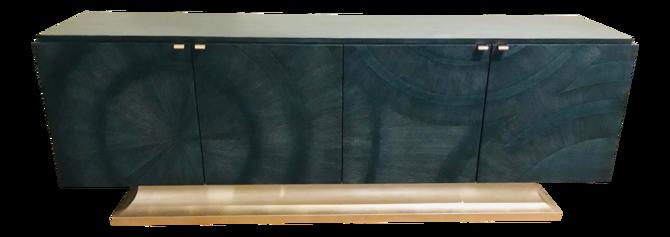 Caracole Modern Deja Blue Cabinet