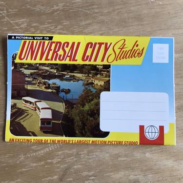 Vintage Universal City Studios Picture Postcard | 60s Hollywood California Movie Ephemera Souvenir | Unused by blindcatvintage