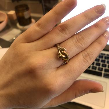 Tiro Tiro Big Knot Ring