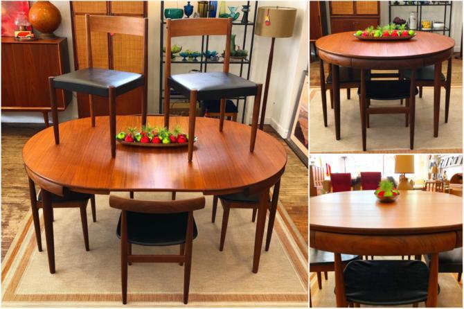 Roundette Teak Dining Set