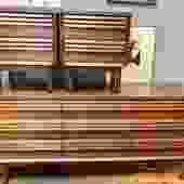 1960's Bassett Bedroom Set-Dresser & Nightstands (will separate)