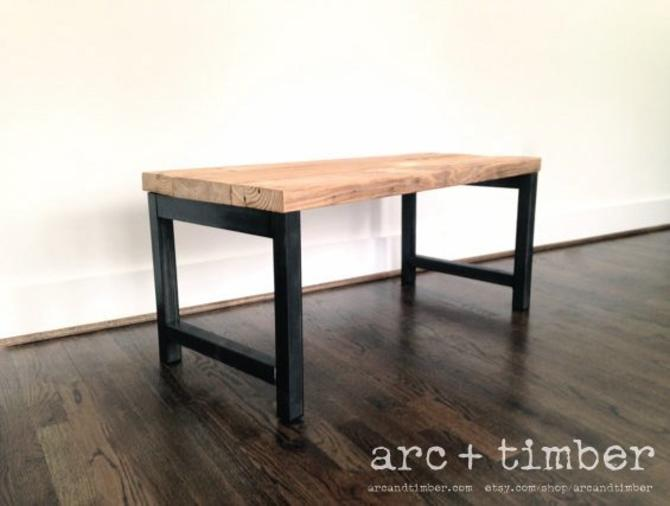 The Quot Hudsonquot Coffee Table Reclaimed Wood