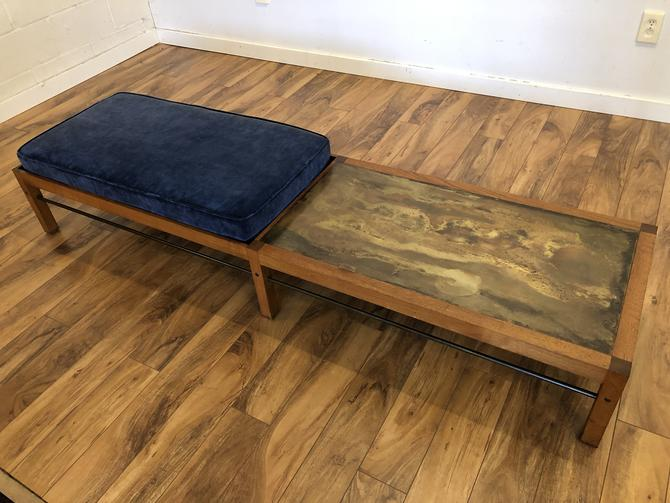 Lunstead Mid Century Bench / Table