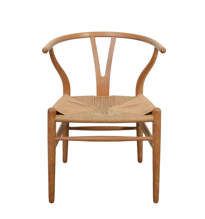 Hans Wegner Wishbone Chair Carl Hansen CH24 Danish Modern Vintage Chair Number 3 by HearthsideHome