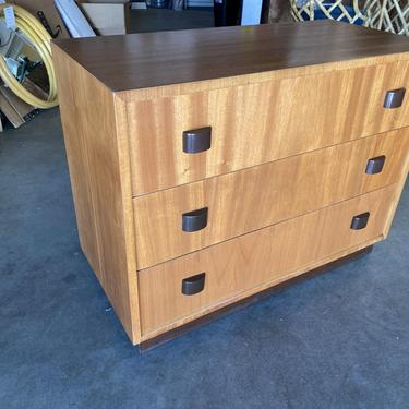 George Nelson Inspired Walnut Lowboy Dresser by HarveysonBeverly