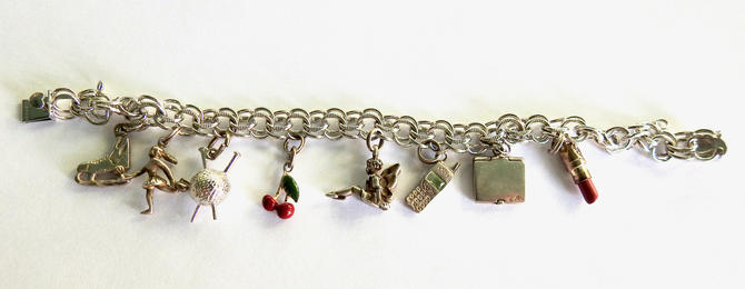 Sterling Charm Bracelet by LegendaryBeast