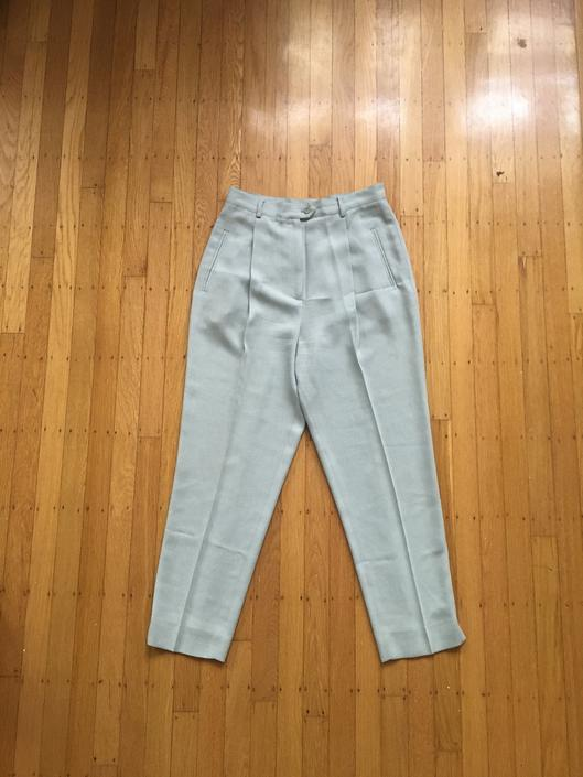 Pale Blue Trousers by MillaRosaShop