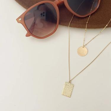 Alyse Hammered Necklace