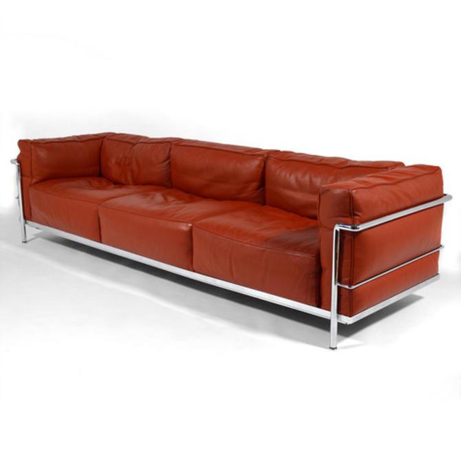 Le Corbusier LC3 Sofa by Cassina