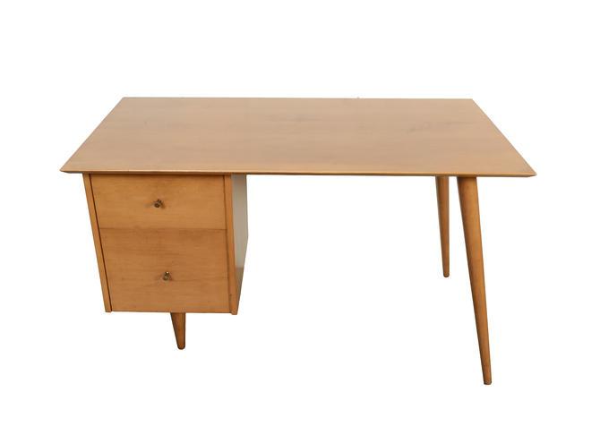 Paul McCobb Planner Group Desk Mid Century Modern Winchendon Furniture by HearthsideHome