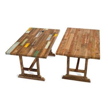 Reclaimed Wood Dining Tables #1 & #2