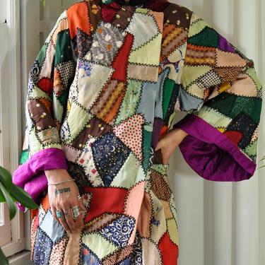 40s Crazy Quilt Jacket