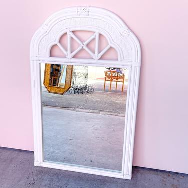 Island Chic Rattan Mirror